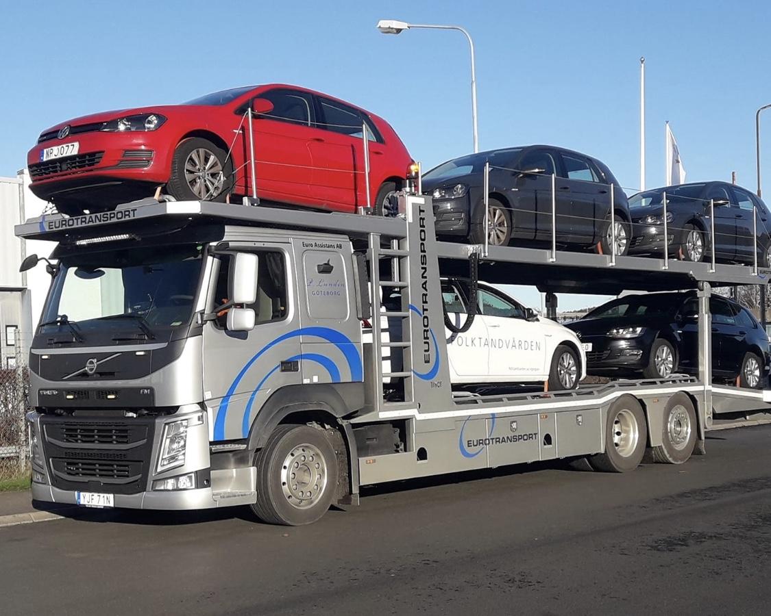 Biltransport i Göteborg